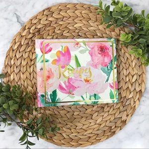 Gardner Studios Floral Print Personal Recipe Book